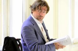 Novinář Janek Kroupa u soudu