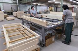Výroba dveřeních rámů
