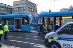 Srážka tramvají v Ostravě