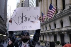 Blokace obchodů s akciemi ze strany Robinhoodu vyvolala nevoli