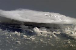 Bouřkový mrak z kovadlinovým vzhledem