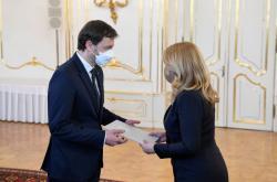 Zuzana Čaputová pověřila Eduarda Hegera sestavením vlády