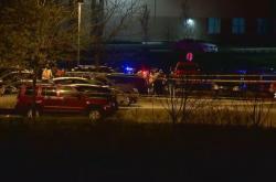 Místo střelby v Indianapolis