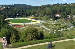 Atletický areál Krajinka v Chebu