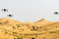Drony nad pouští