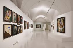 Z výstavy Malevič - Rodčenko - Kandinskij a ruská avantgarda