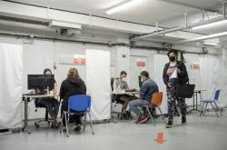 Velkokapacitní očkovací centrum v nemocnici v České Lípě