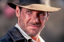 Harrison Ford ve slavné roli Indiana Jonese