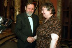 Rudolf Zeman a Petruška Šustrová