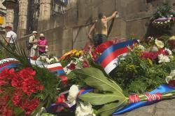Pieta k uctění československých výsadkářů