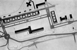 Soutěžní návrh na zastavění Letenské pláně v Praze vládní čtvrtí a budovou parlamentu (architekt: Josef Štěpánek), 1928
