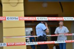 Místo policejního zásahu v Českých Budějovicích