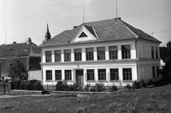 Babická škola v roce 1951