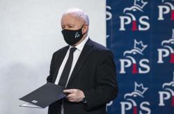 Předseda polské vládní strany Právo a spravedlnost (PiS) Jaroslaw Kaczyński