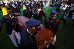 Pohřeb prezidenta Haiti Jovenela Moïseho
