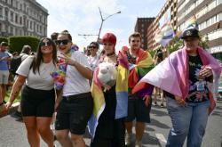 Do pochodu za práva sexuálních menšin v Budapešti se zapojily tisíce lidí