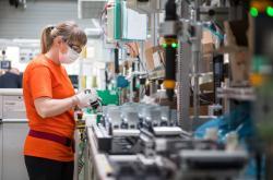 Výroba ve firmě Schneidere Electric