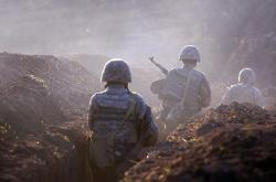 Arménští vojáci v regionu Tavuš (snímek je z července 2020)
