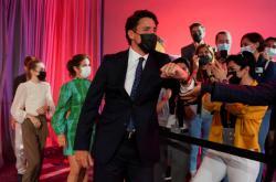 Kanadský premiér a šéf Liberální strany Justin Trudeau