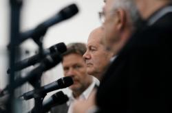 Kandidát SPD na kancléře Olaf Scholz
