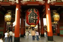 Chrám v Tokiu