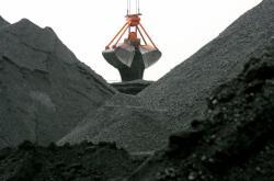 Těžba černého uhlí