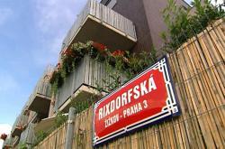 Bytová zástavba na pozemcích, které žádala Emilie Bednářová