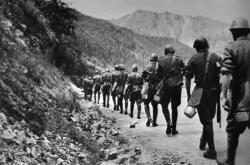 Nástup do bojů SNP v okolí Strečna (1944)