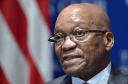 Jihoafrický prezident Jacob Zuma na summitu v USA