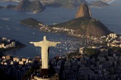 Socha Ježíše Krista v Riu de Janeiru