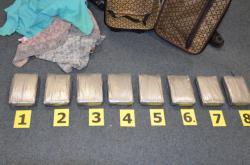 Kokain zadržený na pražském letišti
