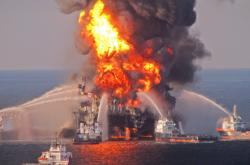 Výbuch ropné plošiny Deepwater Horizon