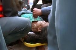 Žena přežila více než 50 hodin v sutinách