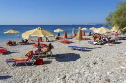 Pláž v Řecku