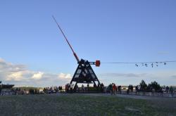 Místo původního Stalinova pomníku v Praze na Letné