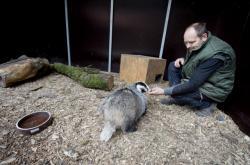 Vedoucí záchranné stanice pro zraněná zvířata v Poděbradech Luboš Vaněk