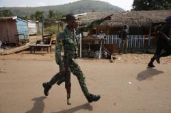 Policista ve Středoafrické republice
