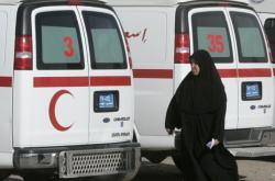 Sanitky v Iráku