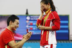 Žádost o ruku na olympiádě v Riu