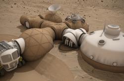 Takhle nějak bude vypadat obytná základna na Marsu