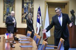 Podpis koaliční smlouvy na Vysočině
