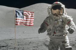 Cernan na Měsíci