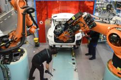 Výroba vozů Mercedes-Benz v Německých Brémách