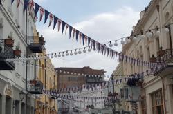 Třída Agmašenebeli ve Tbilisi
