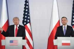 Donald Trump a Andrzej Duda
