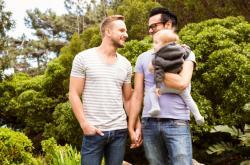 Ilustrační fotografie: Registrovaný pár s dítětem