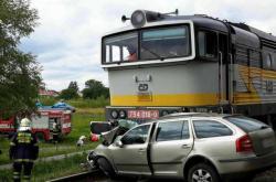 Železniční nehoda ve Vracově