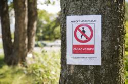 Na Zlínsku začal platit zákaz vstupu do některých lokalit