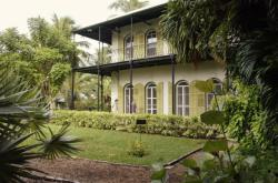 Dům Ernesta Hemingwaye v Key West na Floridě