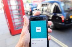 Uber v Londýně